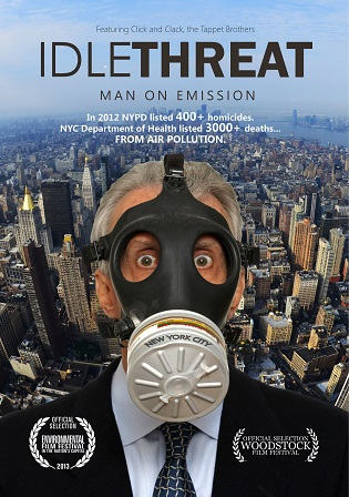 Idle Threat, Man on Emission, humorous Award Winning Documentary available for presentation to your audience