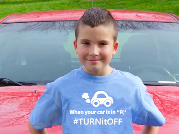 Give a child you love cleaner air and a t shirt that helps fight pollution