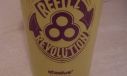 Reusable, refillable cup from Bonnaroo 2017