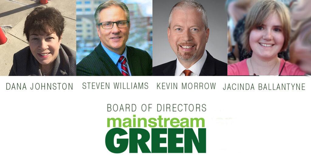 Mainstream Green Board of Directors Nov. 2020